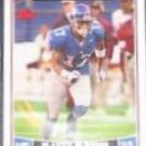 2006 Topps Plaxico Burress #101 Giants