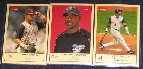 2005 Fleer Tradition Carlos Delgado #181 Blue Jays