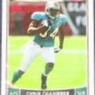 2006 Topps Chris Chambers #110 Dolphins