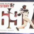 2006 Topps HR History Barry Bonds #697 Giants
