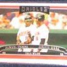 2006 Topps Team Stars Tejada/Mora #327 Orioles