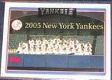 2006 Topps Team Card #284 Yankees