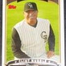 2006 Topps Manager Clint Hurdle #274 Rockies
