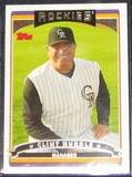 2006 Topps Manager Clint Hurdle #274 Rockies