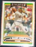 2006 Topps Barry Zito #178 Athletics