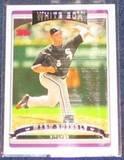 2006 Topps Mark Buehrle #90 White Sox