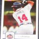 2006 Fleer Julio Franco #62 Mets