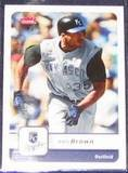 2006 Fleer Emil Brown #334 Royals