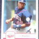2006 Fleer Torii Hunter #370 Twins