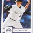2006 Fleer Brian Fuentes #323 Rockies