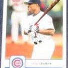 2006 Fleer Jacque Jones #359 Cubs