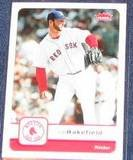 2006 Fleer Tim Wakefield #305 Red Sox