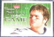 2006 Fleer Faces of the Game Tom Brady #FG-TB Patriots