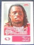 2006 Fleer Fresh Faces Rookie Vernon Davis #FR-VD
