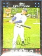 2007 Topps Rookie Mike Rabelo #294 Tigers