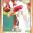 2007 UD First Edition Eric Milton #201 Reds