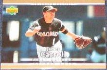 2007 UD First Edition Jamey Carroll #203 Rockies