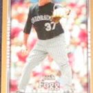 2007 UD First Edition Josh Fogg #207 Rockies