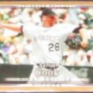 2007 UD First Edition Aaron Cook #208 Rockies