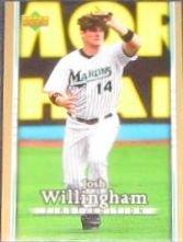 2007 UD First Edition Josh Willingham #214 Marlins