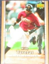 2007 UD First Edition Willy Taveras #221 Rockies