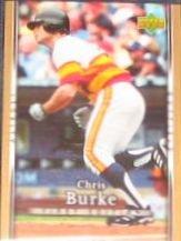 2007 UD First Edition Chris Burke #222 Astros