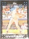 2007 Topps Lyle Overbay #66 Blue Jays