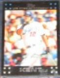 2007 Topps (Red Back) Jeff Kent #102 Dodgers