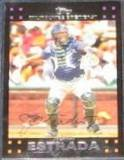 2007 Topps (Red Back) Johnny Estrada #104 Brewers
