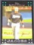 2007 Topps (Red Back) Mike Jacobs #134 Marlins