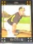 2007 Topps Zach Duke #164 Pirates