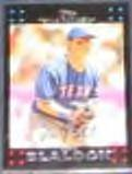 2007 Topps Hank Blalock #166 Rangers