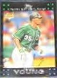 2007 Topps Rookie Delmon Young #20 Devil Rays