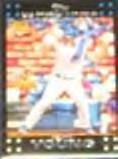 2007 Topps Rookie (Red Back) Delwyn Young #271 Dodgers