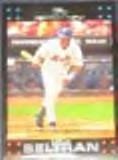 2007 Topps Carlos Beltran #200 Mets