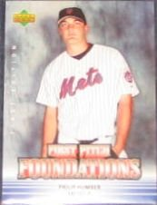 07 UD First Ed. First Pitch Foundations Philip Humber