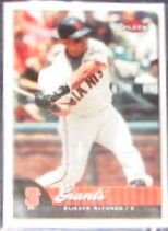 2007 Fleer Eliezer Alfonzo #73 Giants