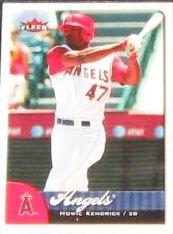 2007 Fleer Howie Kendrick #182 Angels