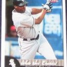 2007 Fleer White Sox Checklist Jermaine Dye #376