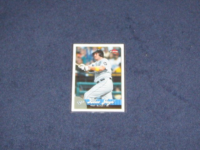 2007 Fleer Troy Glaus #17 Blue Jays