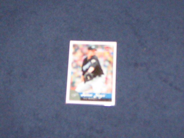 2007 Fleer A.J.Burnett #15 Blue Jays