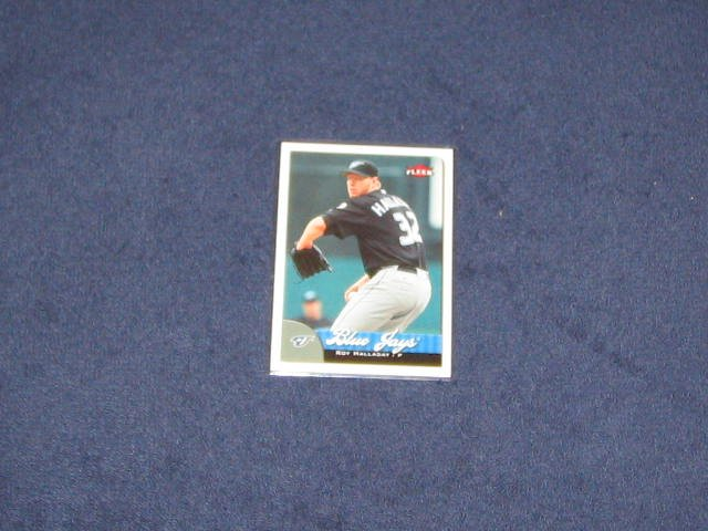 2007 Fleer Roy Halladay #14 Blue Jays
