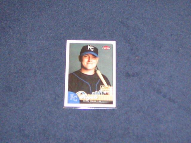 2007 Fleer Rookie Mitch Maier #345 Royals