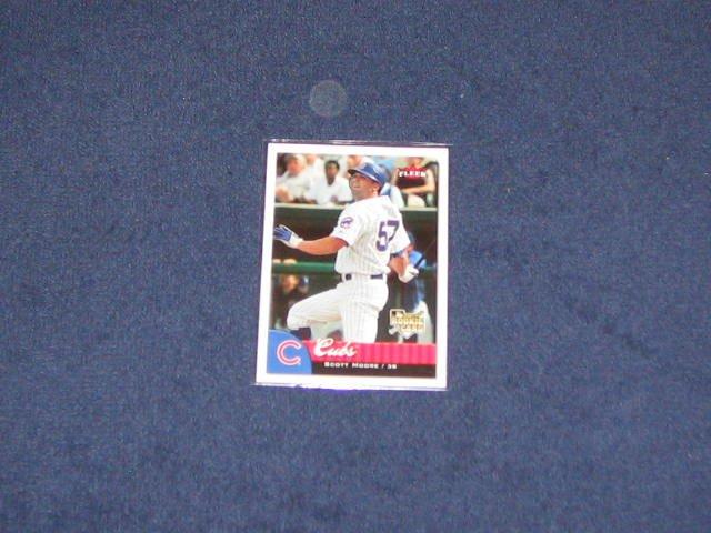 2007 Fleer Rookie Scott Moore #329 Cubs