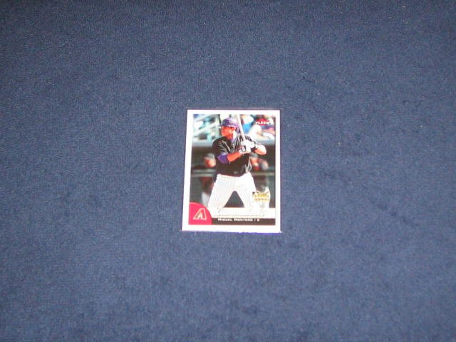 2007 Fleer Rookie Miguel Montero #322 Diamondbacks