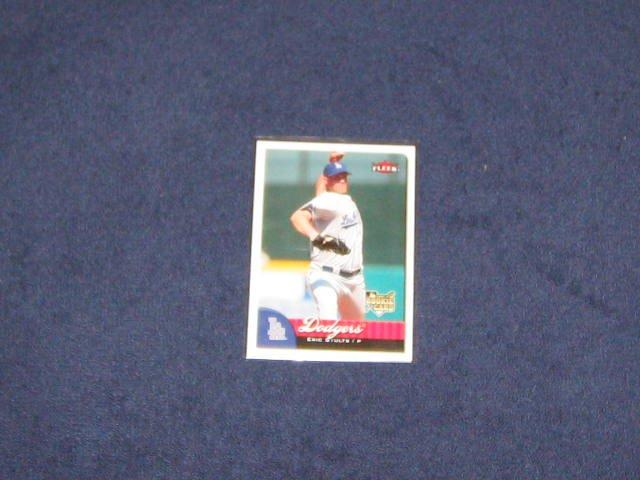 2007 Fleer Rookie Eric Stults #370 Dodgers