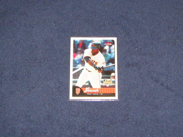 2007 Fleer Rookie Fred Lewis #358 Giants