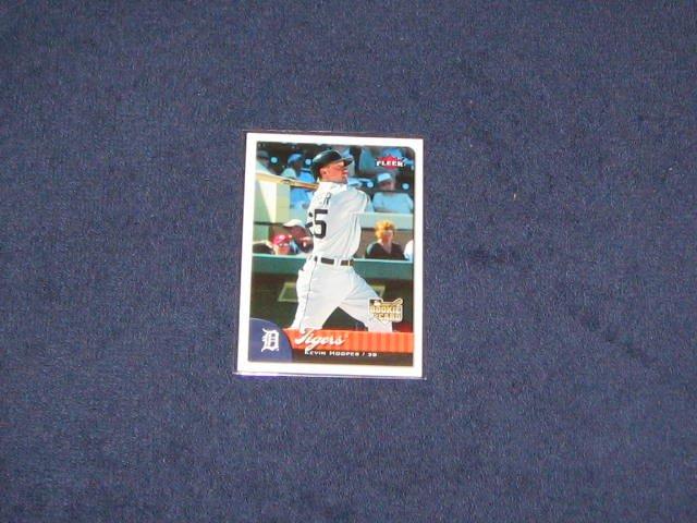 2007 Fleer Rookie Kevin Hooper #349 Tigers