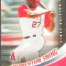 2007 UD First Edition Momentum Swing Vladimir Guerrero