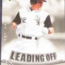 2007 UD First Edition Leading Off Scott Podsednik